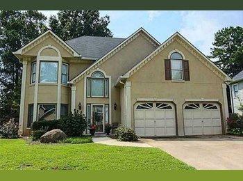 EasyRoommate US - Beautiful House at Cobblestone Golf Course - Kennesaw / Acworth, Atlanta - $850