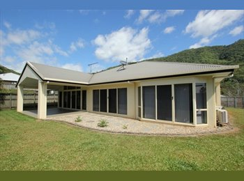 EasyRoommate AU - 2 x Clean, Tiled rooms available w. mountain views - Cairns, Cairns - $175