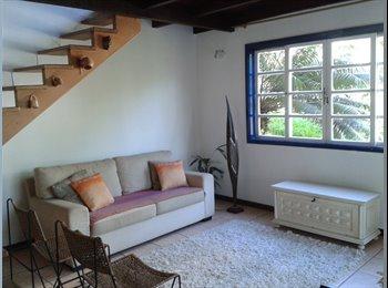 EasyQuarto BR - Casa perto da praia com acesso ao Rio e a Niterói - Engenho do Mato, Niterói - R$950