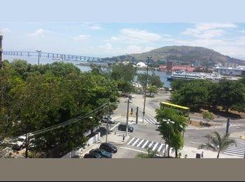 EasyQuarto BR - Alugo Quarto ao lado do Plazza e Valonguinho - Centro, Niterói - R$800