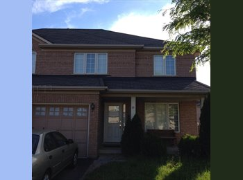 Unfurnished room for rent in south Brampton