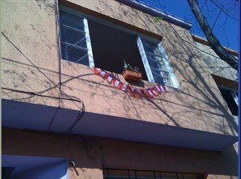 Pieza con baño privado en Santiago Centro, bedroom with...