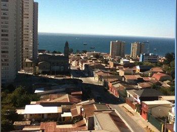 CompartoDepto CL - Se arrienda pieza en dpto. - Valparaíso, Valparaíso - CH$*