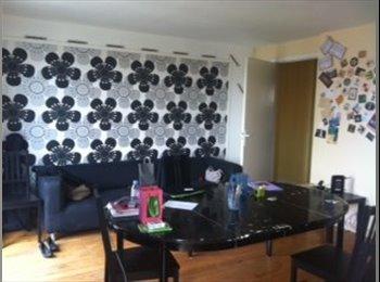 Appartager FR - A louer chambre meublée dans gd appartement centre ville LE HAVRE( 5 colocataires) - Le Havre, Le Havre - €380
