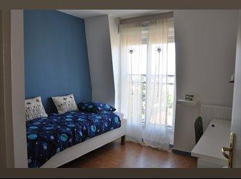 Appartager FR - LOUE CHAMBRE, SALLE DE BAIN - WC INDIVIDUELS - Le Perreux-sur-Marne, Paris - Ile De France - €500