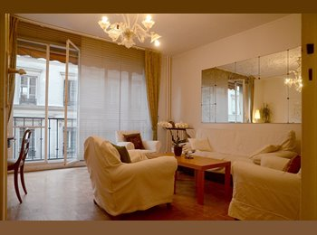 Beautiful apartment center Paris Grands Boulevards