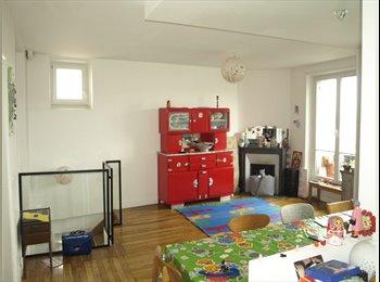 Loue chambre dans duplex bas Montreuil