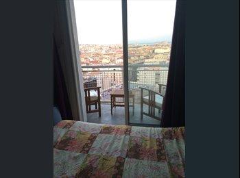 ch  meublée avec balcon terrasse vue mer/ville