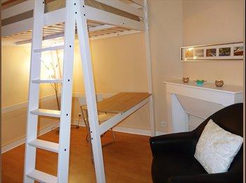 Appartager FR - Belle chambre meublée pour coloc femme - Champs-sur-Marne, Paris - Ile De France - €400