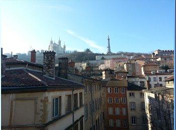 Chambre à louer dans Duplex au coeur du Vieux Lyon