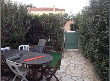 Appartager FR - Location d'une maisonnette meublée à partager - Le Pradet, Toulon - €200
