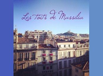 Appartager FR - Chambre dans jolie colocation - 1er Arrondissement, Marseille - €567
