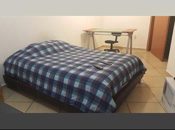CompartoDepa MX - Se renta cuarto SUPER amueblado $5500 pesos - San Luis Potosí, San Luis Potosí - MX$6000