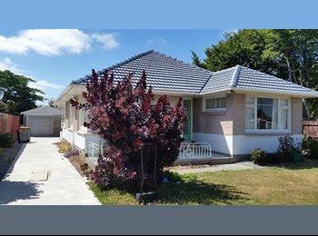 NZ - Avonhead 3 bedroom, 1 room available - Avonhead, Christchurch - $150