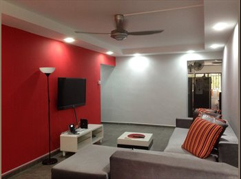 Fully furnished room at Bedok Reservoir newly reno
