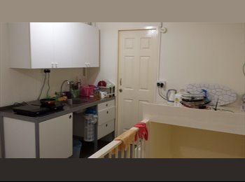 Utility Room Attached with Bathroom for Rent