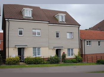 EasyRoommate UK - FURNISHED ENSUITE ROOM - Costessey, Norwich and South Norfolk - £425