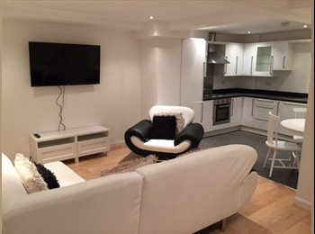 Rooms in Modern Flat For Rent