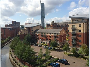 Huge room in Manchester City centre