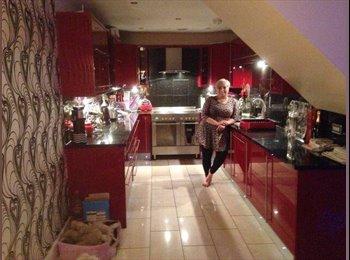 EasyRoommate UK - Beautiful penthouse, double bedroom own bathroom - Huddersfield, Kirklees - £450