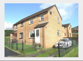 EasyRoommate UK - Room to Rent in 2 Bedroom house £350 all bills inc - Carmyle, Glasgow - £350