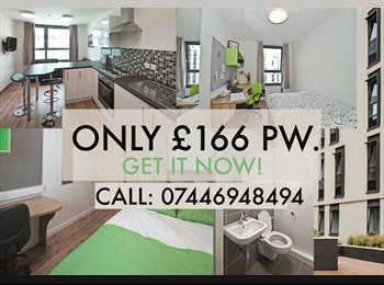 One Bedroom flat with en-suite for £ 166 pw