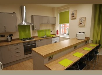 EasyRoommate UK - Rooms in newly refurbished flat-ALL BILLS INCLUDED - Nottingham, Nottingham - £380