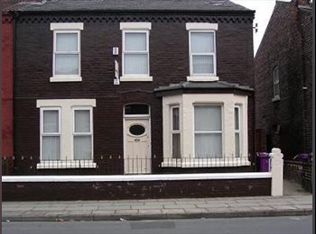 EasyRoommate UK - 6 bed shared student house smithdown road - Wavertree, Liverpool - £327