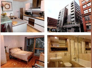 EasyRoommate UK - VERY Central Luxury Flat with Large Room & Balcony - Manchester City Centre, Manchester - £600
