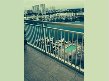 EasyRoommate US - Room for Rent Luxury Condo in Aventura Area, - Aventura, Miami - $700