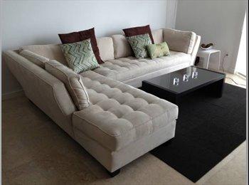 EasyRoommate US - Fantastic 3BR Apartment in Brickell- Great Views! - Brickell Avenue, Miami - $1200