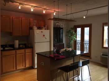 $850/mo sublet available in Lakeview