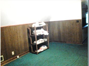 Extra Large carpeted upstairs bedroom,