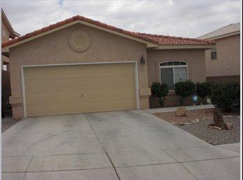 EasyRoommate US - Clean, quite, roommate wanted - Northwest Quadrant, Albuquerque - $400