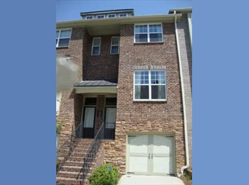 Roommate needed for gated townhouse in brookhaven