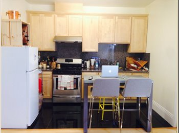 Room available in 2 br just blocks from Wash Sq Pa