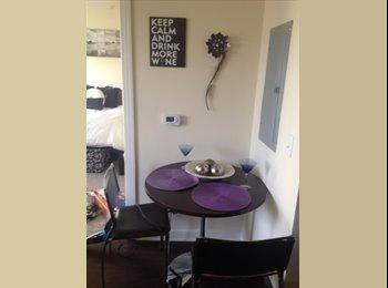 1 bedroom apartment, safe, clean, close to campus