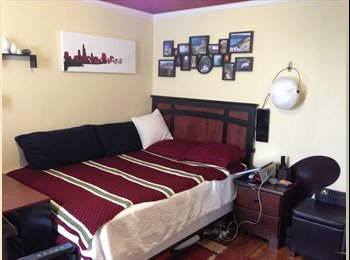 Two Large Rooms Available in 3rd Floor Apt