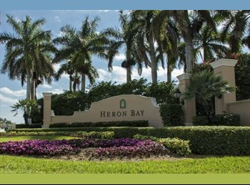 EasyRoommate US -  $800 Room for Rent - Excellent & Safe Location! - Coral Springs, Ft Lauderdale Area - $800