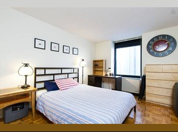 EasyRoommate US - Fully furnished room + bath in 2 bed/bath apt - UES - Upper East Side, New York City - $2000