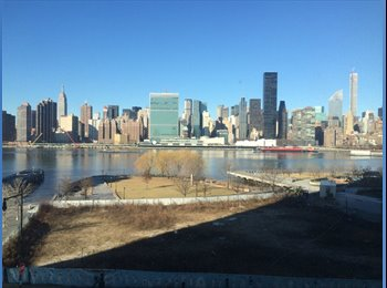 EasyRoommate US - Room in lovely LIC Luxury Apartment Available 4/1 - Long Island City, New York City - $1600