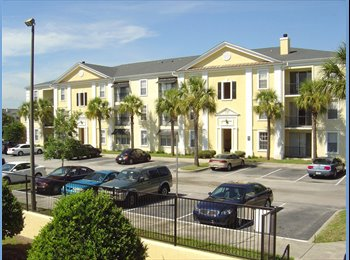 EasyRoommate US - Need 1 roommate! 2 bedroom/2 bath apartment - Orlando - Orange County, Orlando Area - $510