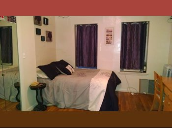 EasyRoommate US - 1 large bedroom available for sublet May/June - Fenway-Kenmore, Boston - $1100