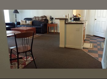 1 BR in 2 BR furnished,sublet,WILL PAY FIRST MONTH