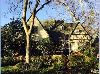 Nice neighborhood/park/ Mc George Law School/City