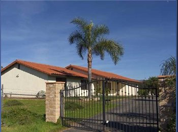 EasyRoommate US - 4 bedroom ranch style - Valley Center, San Diego - $2500