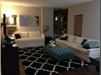 EasyRoommate US - 2bd/2bt Goldcoast Sublet (can renew lease!) - Near North Side, Chicago - $2113