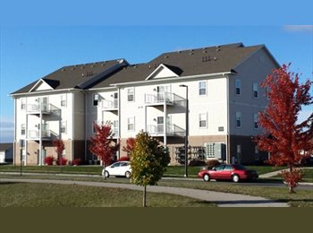 EasyRoommate US - Large private one bedroom & bathroom available now - Ames, Other-Iowa - $465