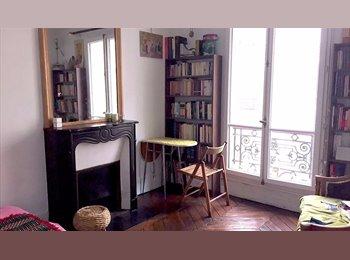 Appartager FR - Big room in 2-room flat - international / italiana - 10ème Arrondissement, Paris - Ile De France - €600