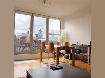 EasyRoommate UK -  1 Bedroom with ensuite batchroom - Tower Hamlets, London - £960